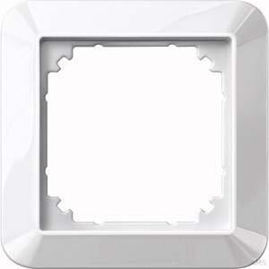 Merten Rahmen 1-fach polarweiß/glänzend 389119