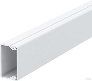 OBO Bettermann Wand+Deckenkanal mit Obert. 20x35mm,PVC WDK20035RW (2 Meter)