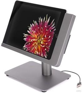 """Viveroo 381219 free flex DarkSteel 12,9"""" Standfuß für iPad 12,9 Anthrazit lackiert"""
