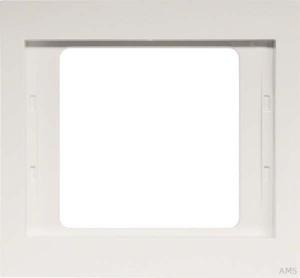 Berker Rahmen 1-fach polarweiß/glänzend IP44 13137009