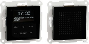 Merten DAB+ Radio Set Bluetooth+Lautspr. MEG4375-0303