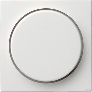 Gira 065003 Abdeckung Drehdimmer System 55 Reinweiß glänzend