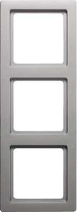 Berker Rahmen 3-fach aluminium lack 10136084