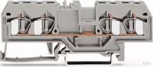 WAGO Durchgangsklemme grau 0,08-4qmm 281-652