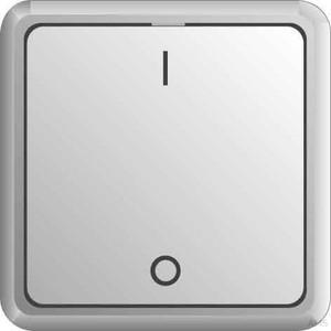Elso UP-Ausschalter 2-polig g IP4 4, Schraubklemme EIN 231201