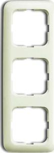 Busch-Jaeger Rahmen 3-fach cremeweiß (ws) senkr. und waagerecht 2513-212