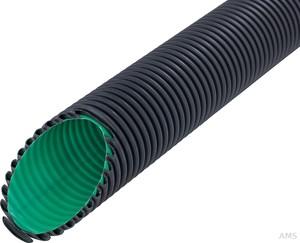 Fränkische Kabelschutzrohr flexibel schwarz Kabuflex R plus 40 (50 Meter)