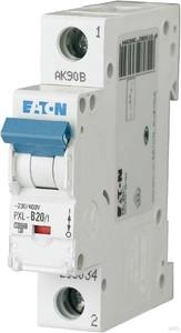 Eaton / Möller LS-Schalter mit Beschrift. B 20A, 1p PXL-B20/1