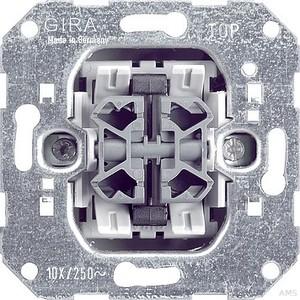 Gira 014700 Wipptaster 4fach Einsatz