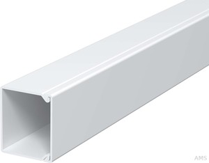 OBO Bettermann Wand+Deckenkanal 30x30mm,PVC WDK30030RW (2 m) (2 Meter)