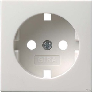Gira 092003 Abdeckung SCHUKO System 55 Reinweiß