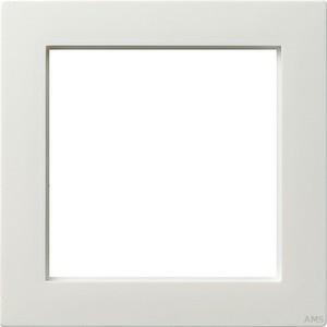 Gira 028240 Adapterrahmen 50x50 quadratisch S Color Reinweiß