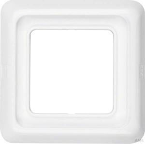Berker Rahmen 1-fach polarweiß/glänzend mit Dichtung IP44 132809