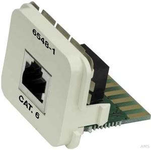 Tyco Electronics Co-Einsatz Kat6 8P reinweiß (rws) 0-0336548-5