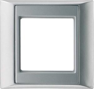 Jung Rahmen 1-fach aluminium waage/senkrecht AP 581 AL