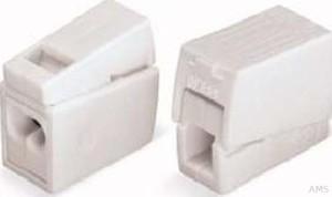 WAGO Leuchtenklemme 2x1,0-2,5mmq weiss 224-112 (100 Stück)