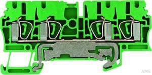 Weidmüller Schutzleiterklemme 2,5qmm gn/ge ZPE 2.5/4AN