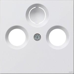 Gira 086903 Abdeckung Antennensteckdose System 55 Reinweiß glänzend