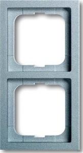 Busch-Jaeger Rahmen 2-fach alusi future linear 1722-183K