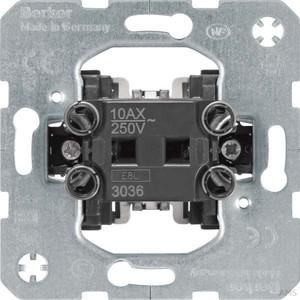 Berker Wipp-Schalter 1p. UP 10A Aus/Wechsel 3036