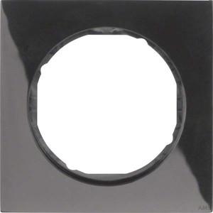 Berker Rahmen sw/glänzend 1fach, rund 10112245
