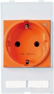 Murr Elektronik 4000-68223-0000000 Einbaurahmen 2-fach Metall