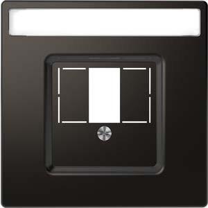 Merten Zentralplatte anthrazit rechteck. Ausschnitt MEG4250-6034