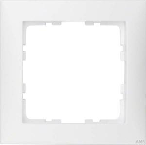 Berker Rahmen 1-fach polarweiß/matt senkrecht/waagerecht 10119909