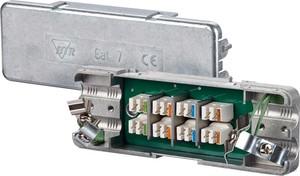 BTR Netcom Kabelverbinder Cat. 7 Metallgehäuse 130863-E