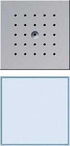 Gira 126065 Türstation unterputz 1fach TX_44 (wassergeschützt unterputz) Farbe Alu