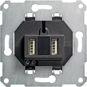 Gira 235900 USB Spannungsversorgung 2fach Einsatz