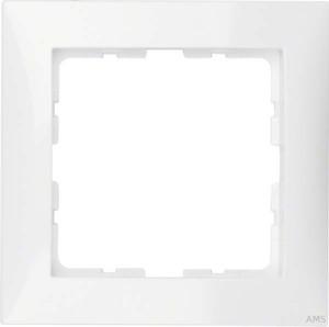 Berker Rahmen 1-fach polarweiß/glänzend senkrecht/waagerecht 10118989