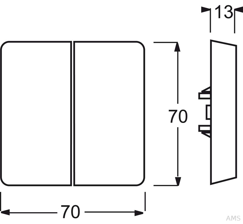 busch jaeger wippe alpinwei aws serien wechs wechs 2105 34. Black Bedroom Furniture Sets. Home Design Ideas