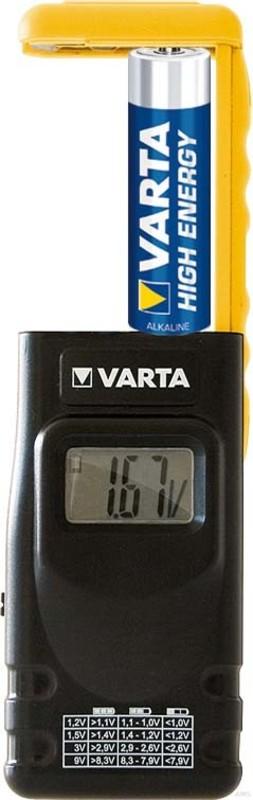 Varta LCD Digital Battery Tester 00891