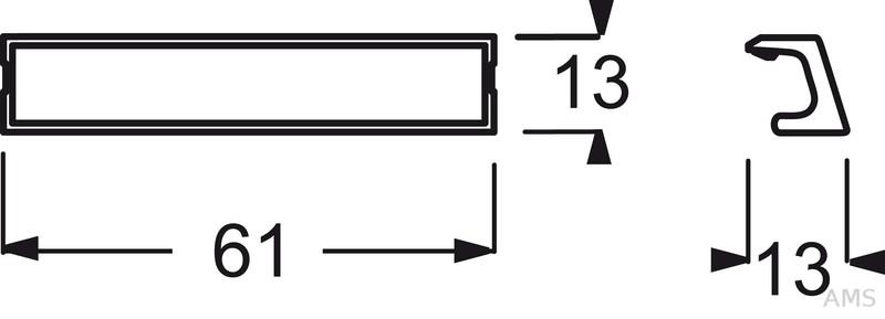 busch jaeger beschriftungstr ger f r schalter und steckd 1763 53. Black Bedroom Furniture Sets. Home Design Ideas