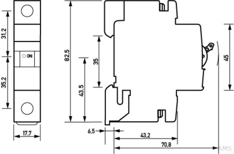 DOEPKE DLS 5 B10 Sicherung Leitungsschutzschalter