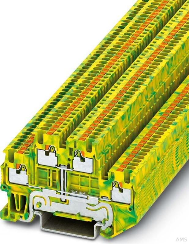 Phoenix Contact Dreistockklemme 0,14qmm-4qmm PTI 2,5-PE//L//NT
