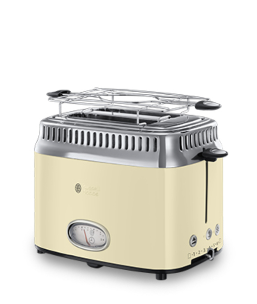 Russell Hobbs 21682-56 Retro Classic Creme Toaster