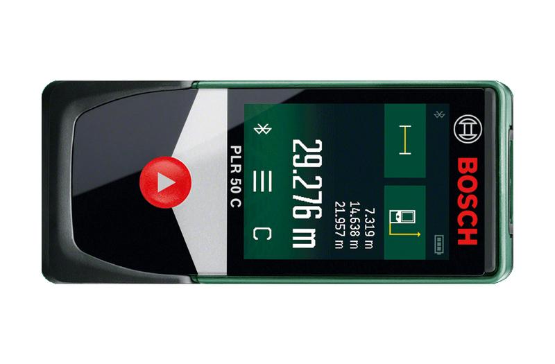 Laser Entfernungsmesser Wie Funktioniert : Bosch plr c laser entfernungsmesser