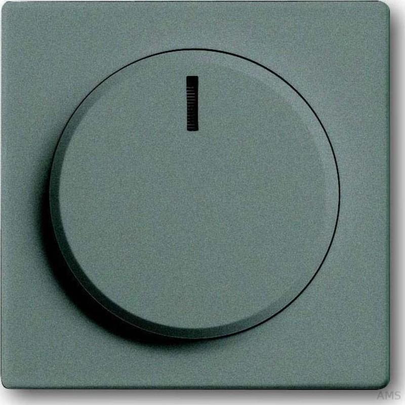 busch jaeger zentralscheibe meteor grau f r drehdimmer 6540 803 102. Black Bedroom Furniture Sets. Home Design Ideas