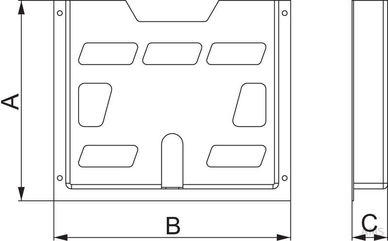 schneider electric plantasche plastik a4 t40mm nsydpa44. Black Bedroom Furniture Sets. Home Design Ideas