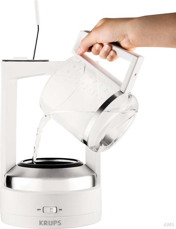 krups km4682 kaffeeautomat mit druckbr hsystem. Black Bedroom Furniture Sets. Home Design Ideas