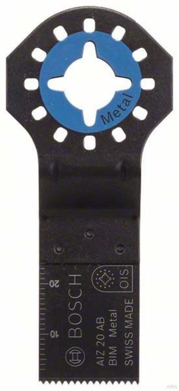 Bosch BIM Tauchsägeblatt AIZ 20 AB Metal 20 x 20 mm