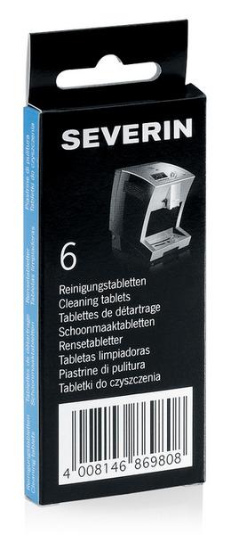 Severin ZB 8698 Reinigungstabletten 6er-Pack