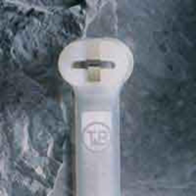 Thomas&Betts Kabelbinder mit Stahlnasen verschluss, 140x3.6m TY24M