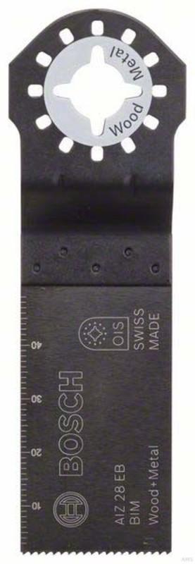 Bosch BIM Tauchsägeblatt AIZ 28 EB Wood & Metal 50 x 28 mm
