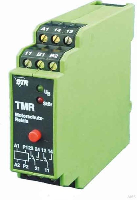 BTR Netcom Motorschutzrelais mit Fehlerspeicher TMR-E12 mFS 1W 230AC