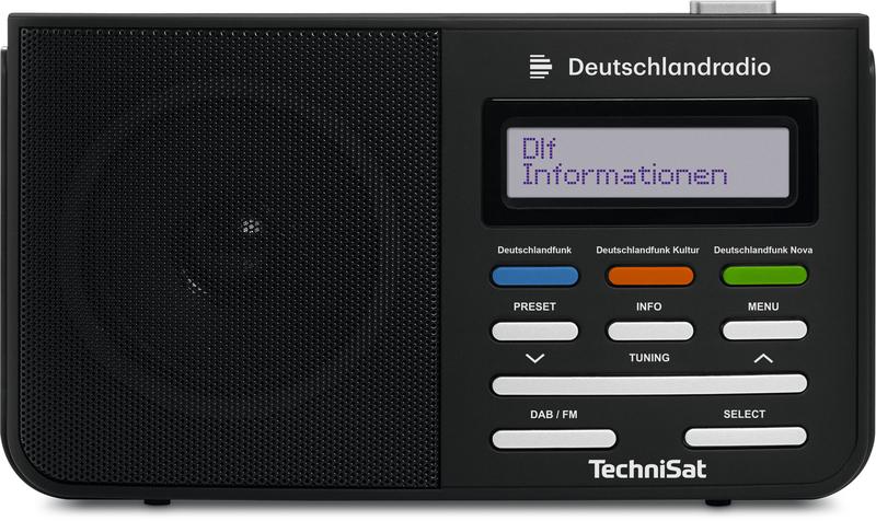 Technisat DIGITRADIO210DE DIGITRADIO 210 Deutschlandradio schwarz