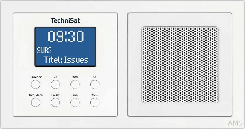 Technisat DIGITRADIOUP1 DIGITRADIO UP 1 weiß (DAB+/UKW BT)
