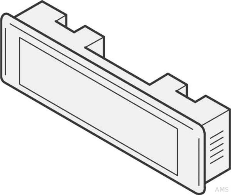 renz metallwaren kombitaster lira 75x22 grau 97 9 85110 gr. Black Bedroom Furniture Sets. Home Design Ideas